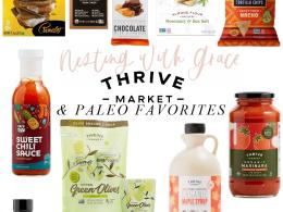 Paleo Thrive Market Favorites