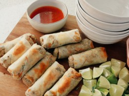 Easy Egg Roll Recipe- Oven Baked- Everyone will love!