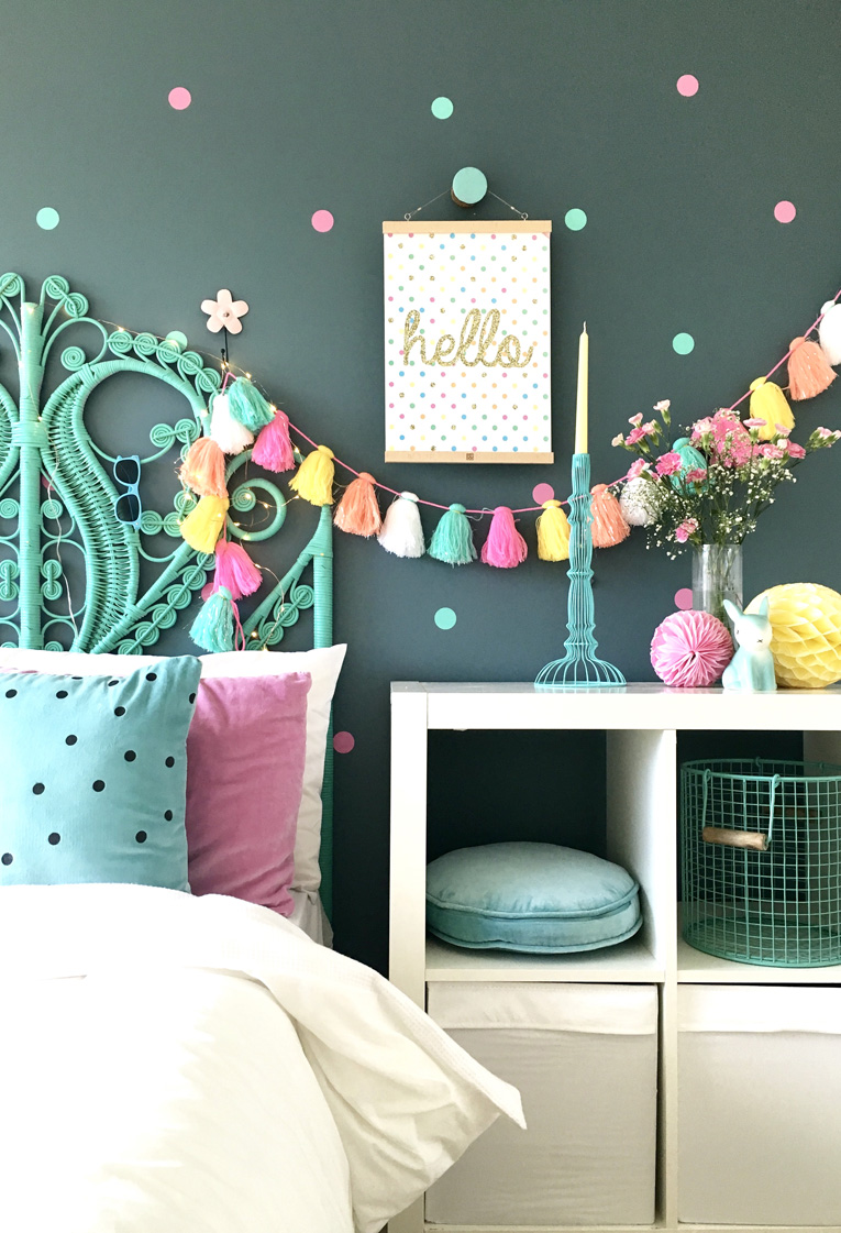 Candy colours 2017 nursery trends