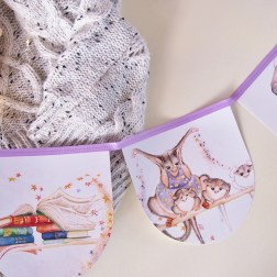 Head in the Clouds Bunting | Beautiful book bunting made from original storybooks | www.nestlingcollective.com