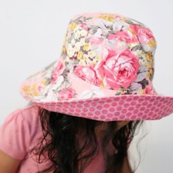 Pleats and Treats | Handmade summer hats | www.nestlingcollective.com