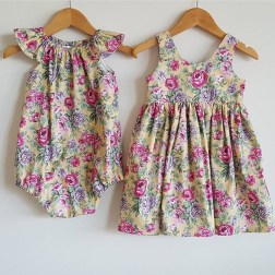 What Molly Wears | Beautiful, handmade clothing for little girls | www.nestlingcollective.com
