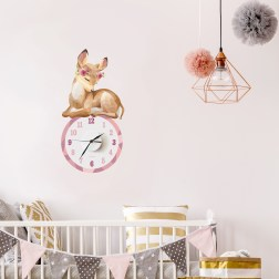 the little blah! | Playful, unique and colourful range of wall decals, wall decal clocks, art prints and greeting cards | www.nestlingcollective.com