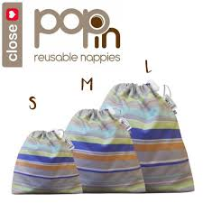 close parent wet bags pastel set