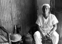 Santeria priest, Cuba