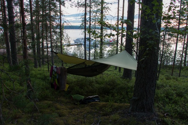 2:58 a.m. Ready to get to bed at Rokansaari