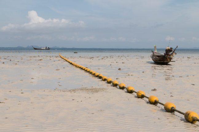 Beach somewhere in Krabi on low tide