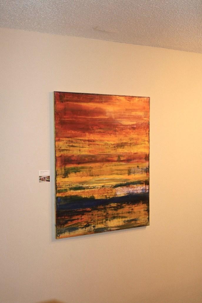 California abstract painter Nestor Toro's solo show July 2016