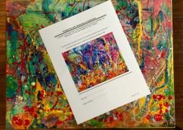 Nestor Toro - artist certificate of authenticiity