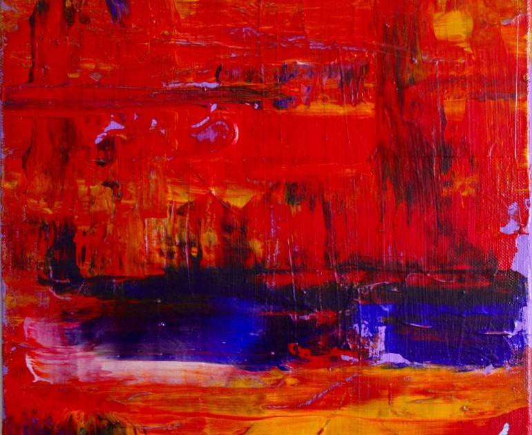 Sold artwork - sold abstract painting - Nestor Toro