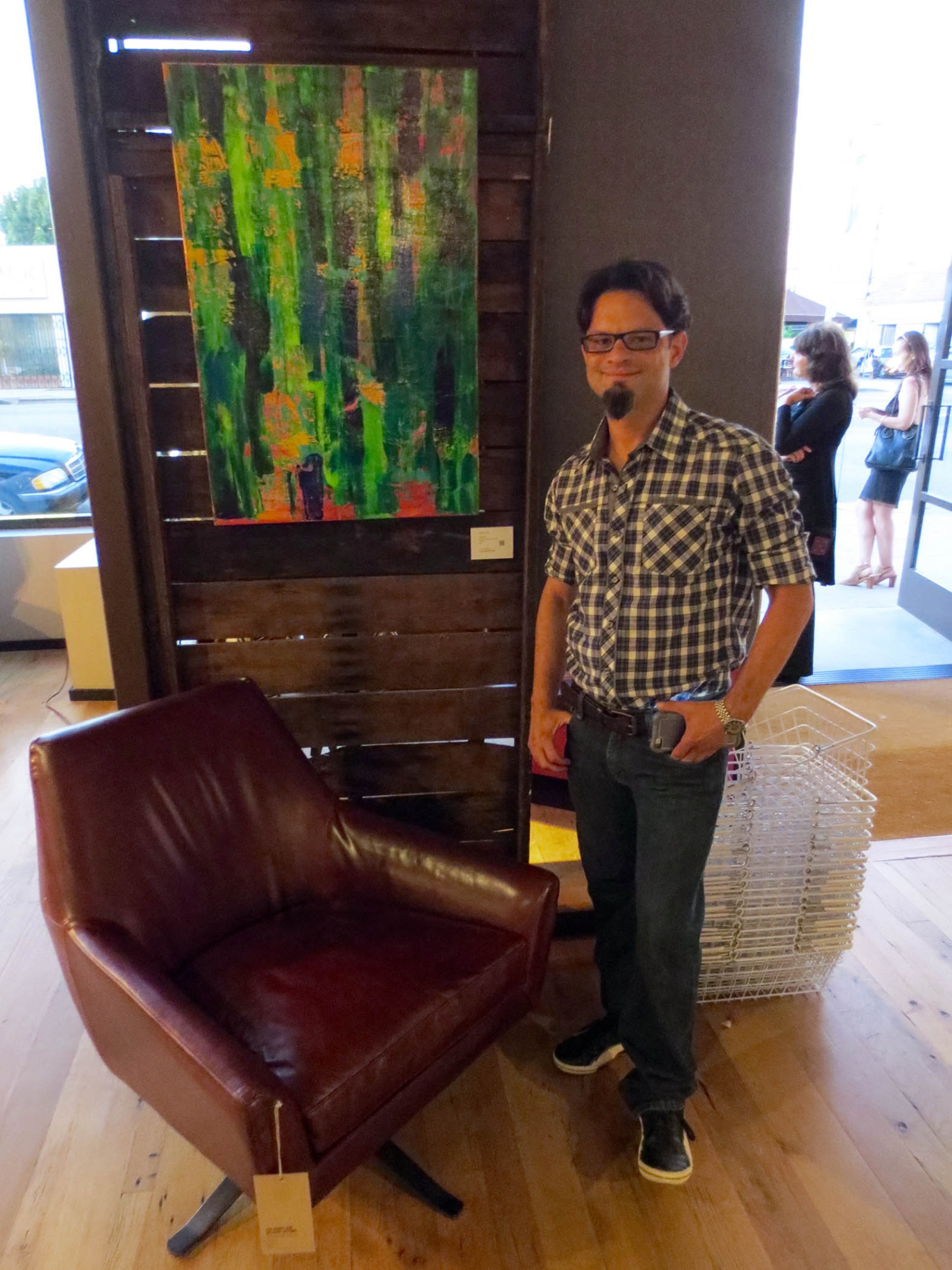 Group show in Beverly Hills Saachti event