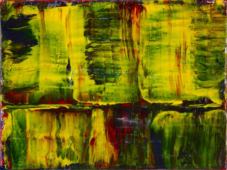 Nestor Toro - sold artwork - abstract paintings
