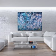 SOLD - Stormy Weather by Los Angeles painter Nestor Toro