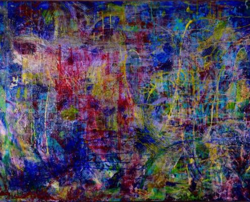 Rain Forest Dream 1 by artist painter Nestor Toro has been sold