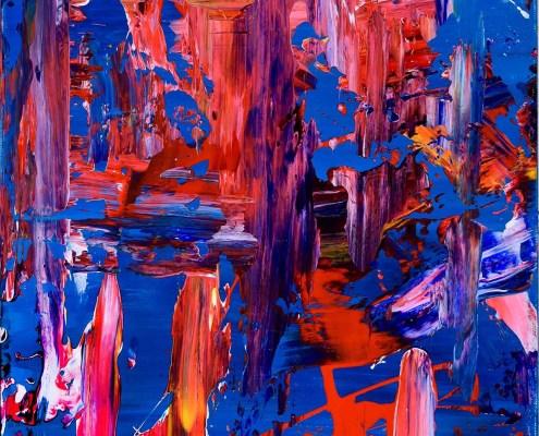 Thunder - Painting by artist Nestor Toro - SOLD