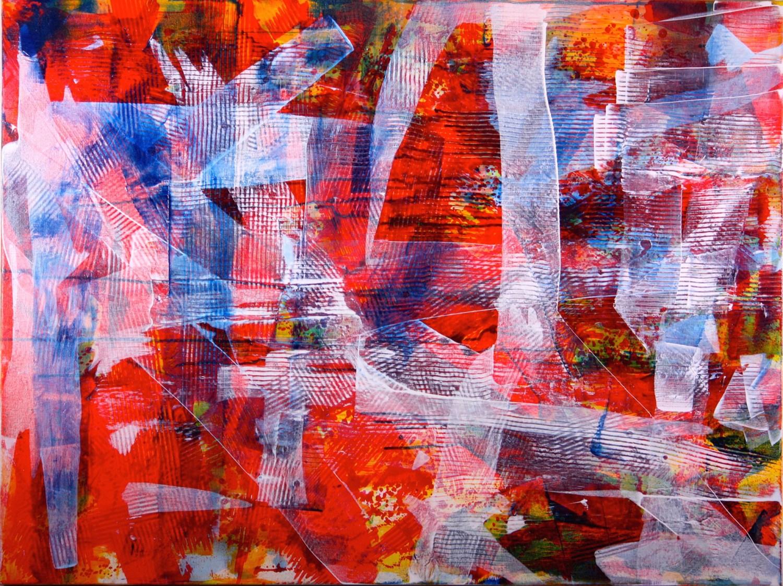 36 x 48 inch acrylic on canvas by artist Nestor Toro