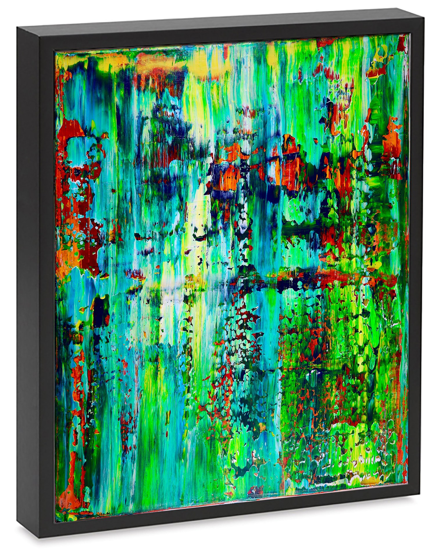 SOLD Artwork - Enchanted Spectra 2 by abstract painter Nestor Toro