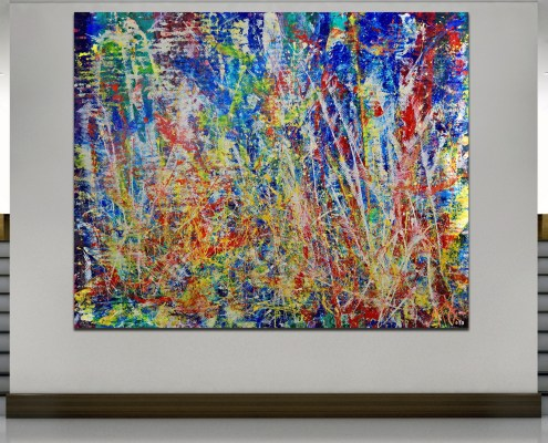 Room View - Infinite Dimensions 1 by Nestor Toro
