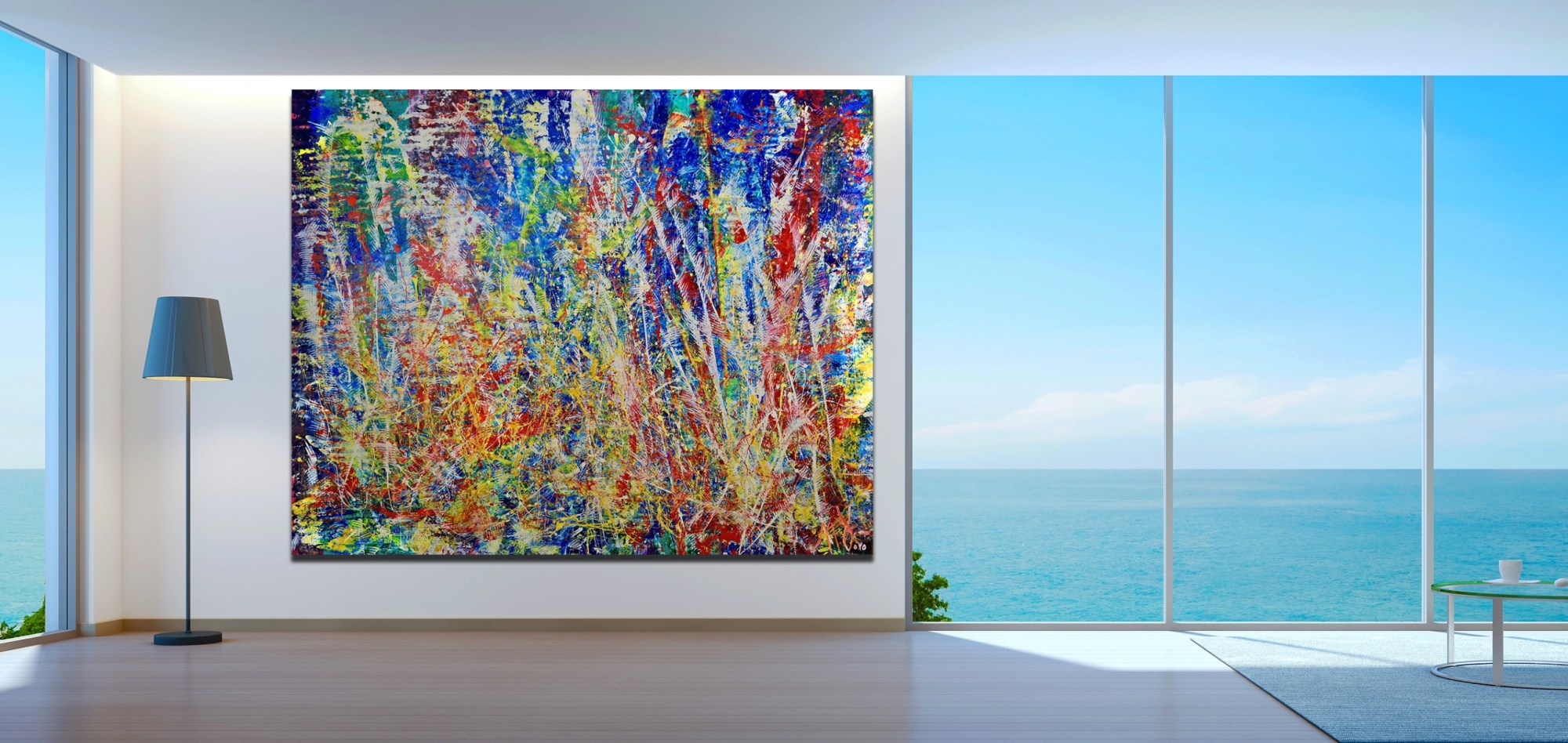 Room View - Infinite Dimensions 1 by Nestor Toro
