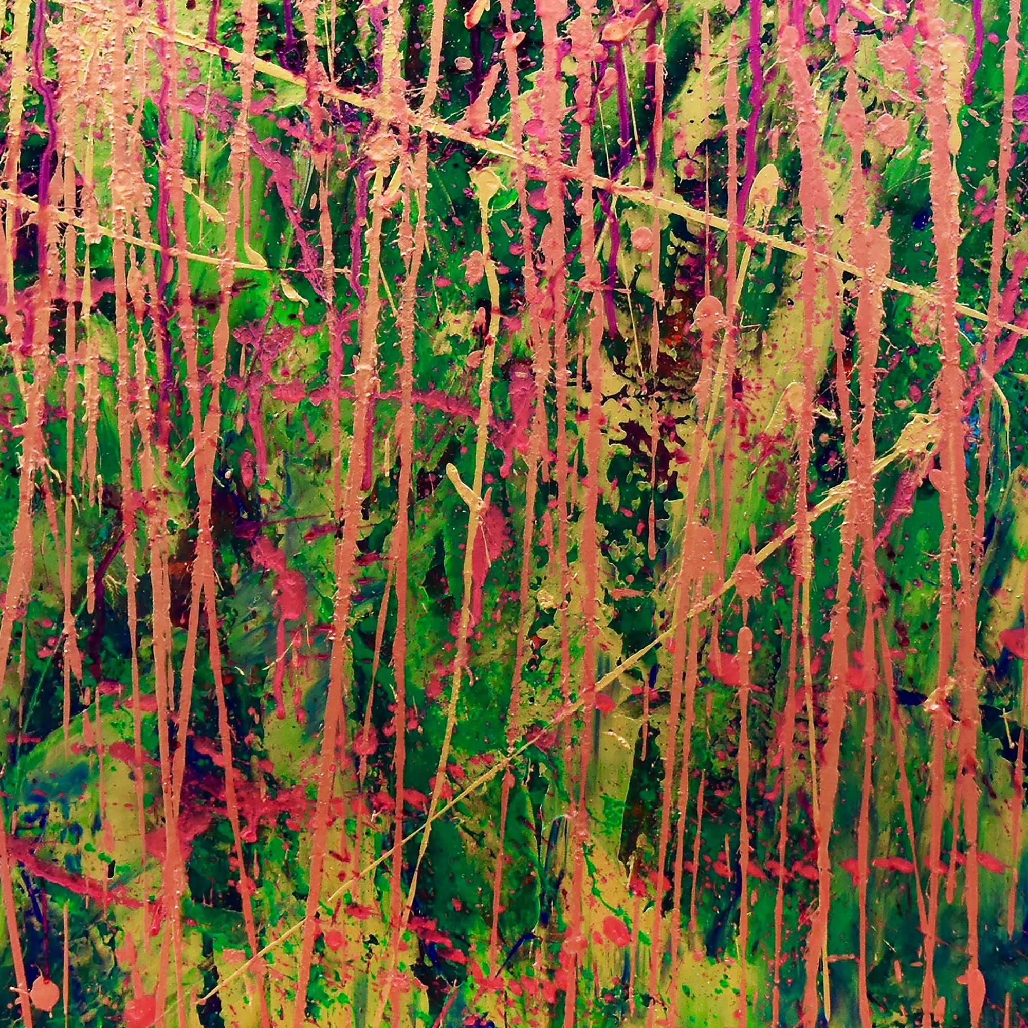 Detail - Golden Spectra (Forest chaos) by Nestor Toro