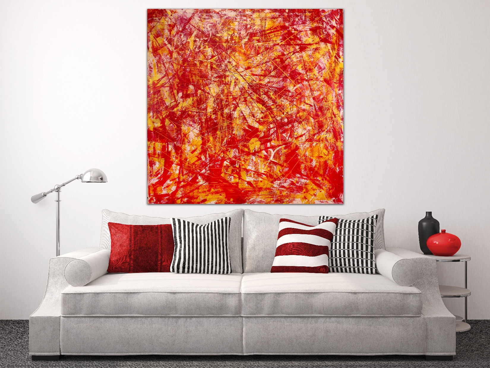 Abstract Painting by Nestor Toro