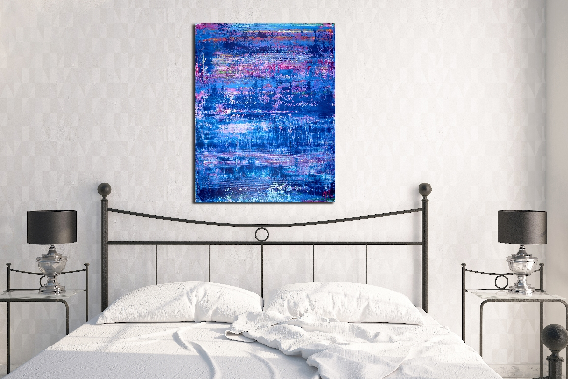 Misty Blue Forrest by Nestor Toro