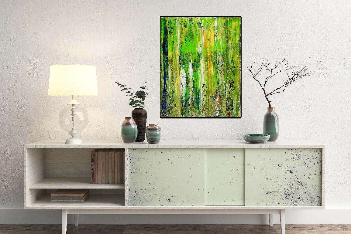 Abstract Terrain (Moss) - artist - Nestor Toro