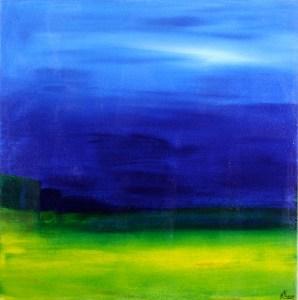 SOLD - On A Blanket by Nestor Toro