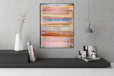 Dimensional Terrain - Thin Air (2017) Mixed Media painting by Nestor Toro