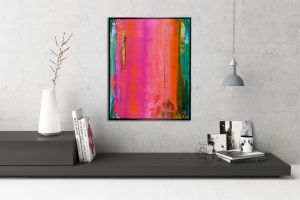 SOLD - Better Times Ahead 2 by L.A. abstract artist - Nestor Toro