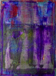 SOLD : Hotel California - Room 5 by LA abstract artist : Nestor Toro - SOLD ART