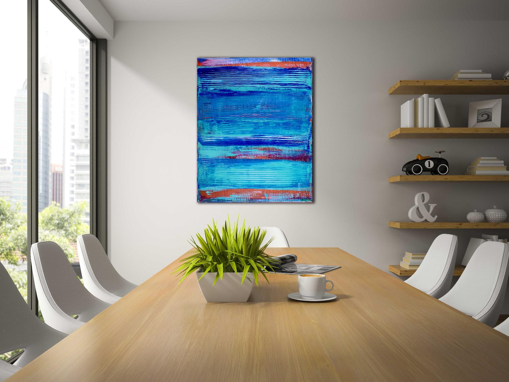 Blue lagoon panorama by Nestor Toro