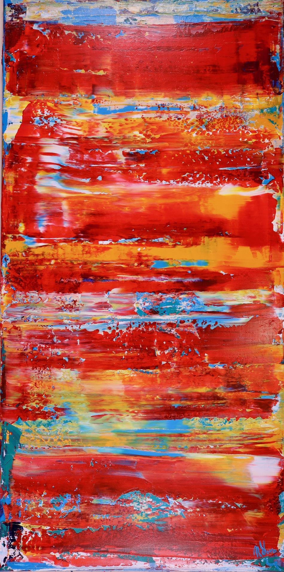 "Fiery California Sun 1 / ""Luminescence"" (2017)"
