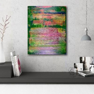 Small Windows- Purple Abstract Colorfield