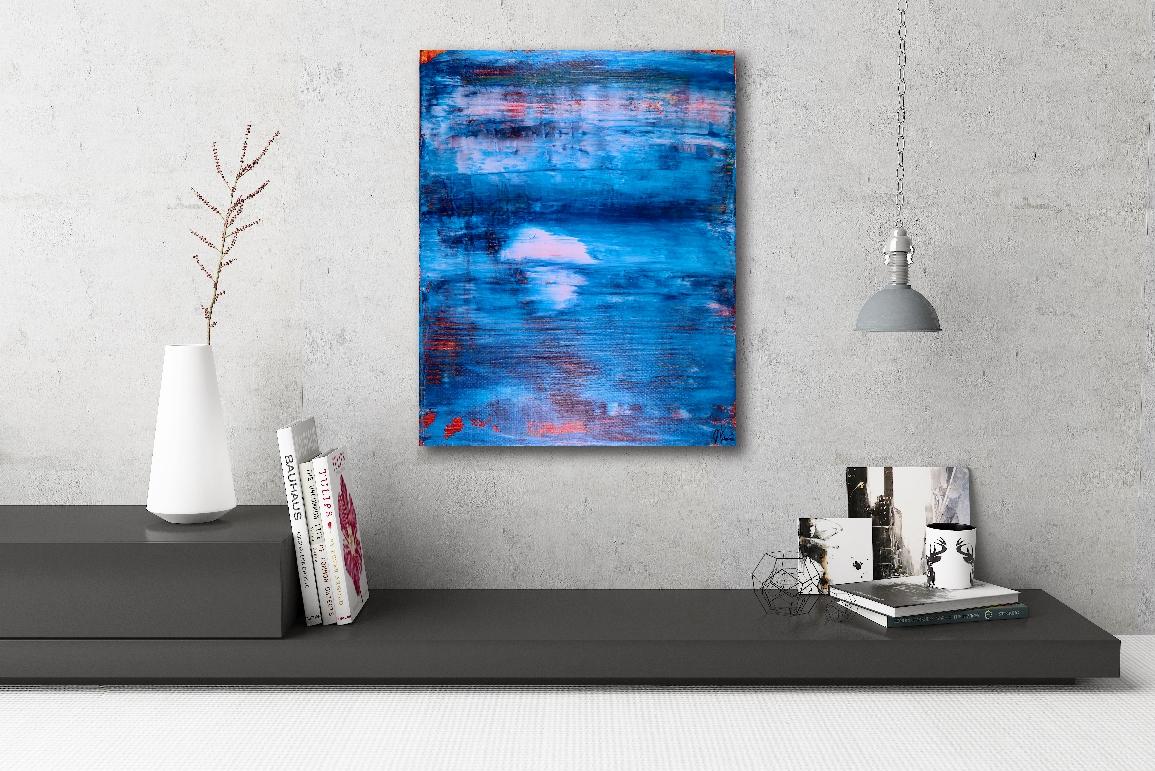 Blue Window by Nestor Toro