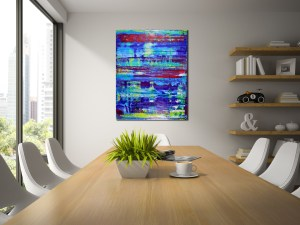 Fairytale landscape by Nestor Toro Los Angeles abstracts
