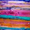 Almost Boundless - Acrylic painting by abstract painter Nestor Toro