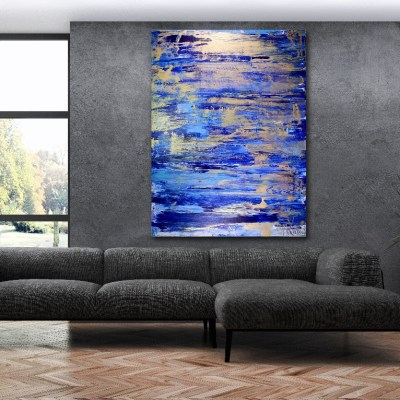 Gold Creek by abstract artist - Nestor Toro