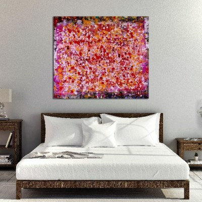 Frequencies Ascending by Los Angeles abstract painter - Nestor Toro