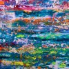 Color Frenzy- Enchanted Spectra 6 (2018 - Los Angeles) Acrylic painting by Nestor Toro