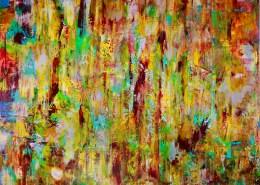 SOLD - Magic Golden Spectra (2018) Acrylic painting by Nestor ToroMagic Golden Spectra (2018) Acrylic painting by Nestor Toro