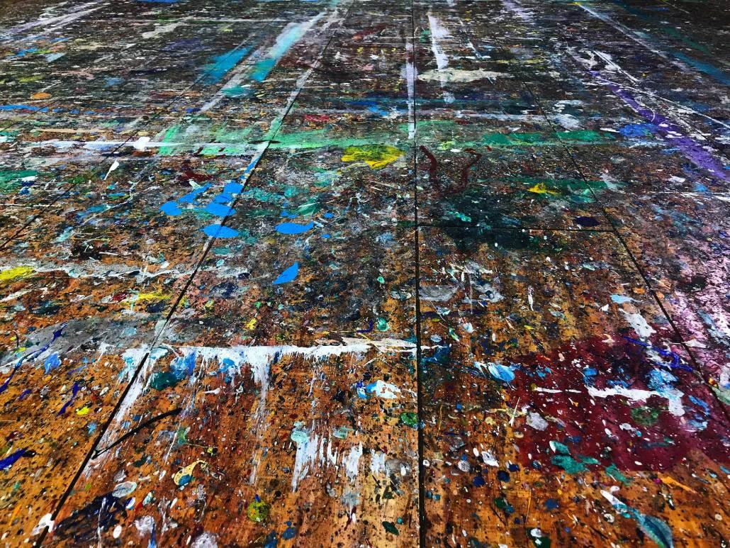 Nestor Toro studio Floor