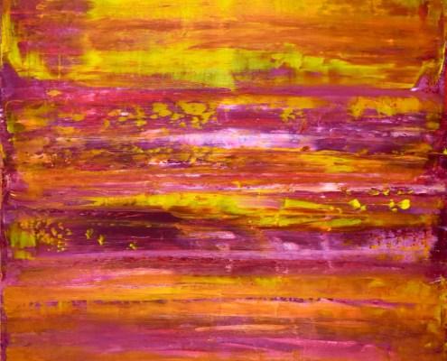 SOLD - Ablaze Sunshine by Nestor Toro - 30x24 inches