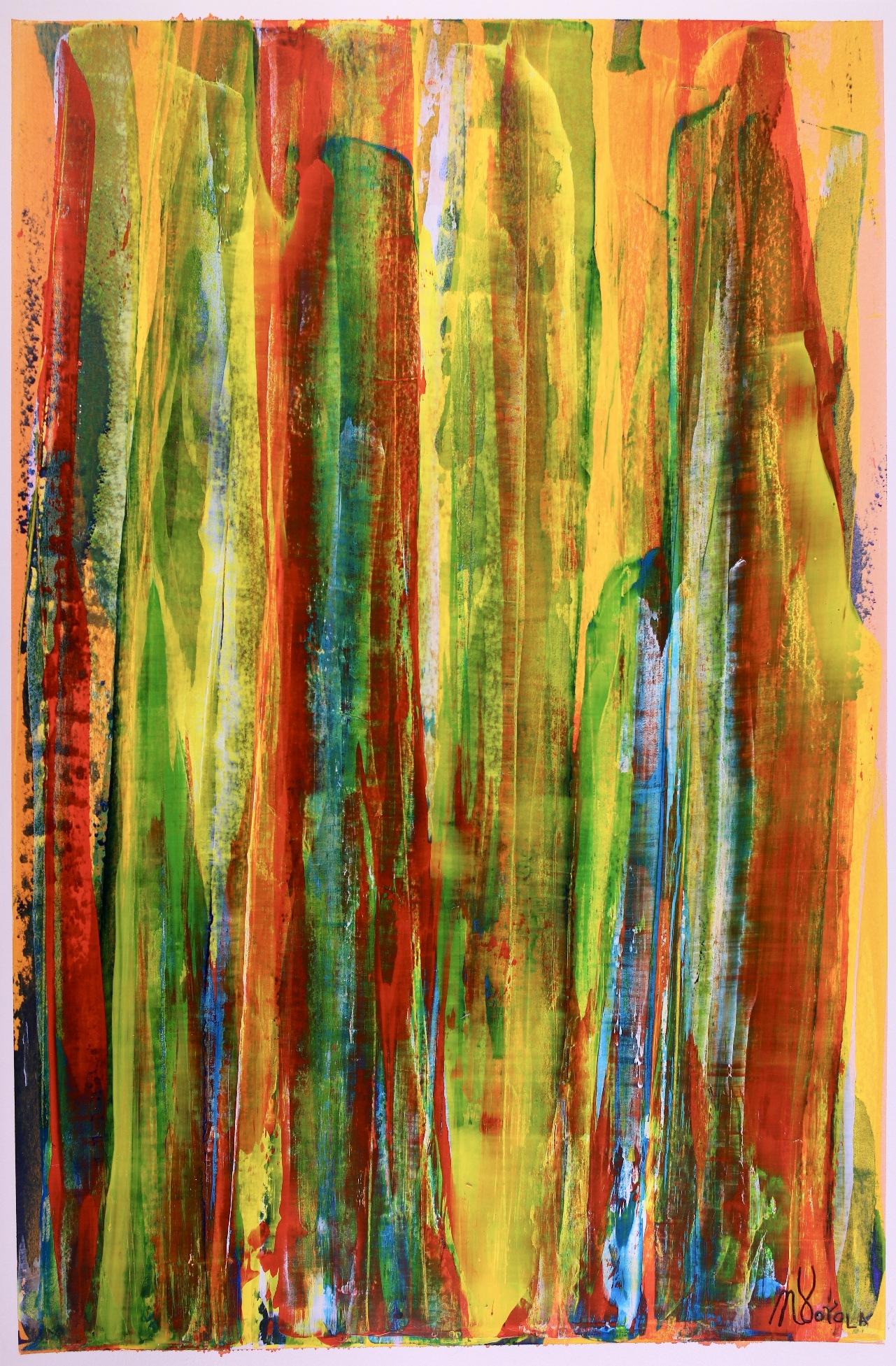 Nature uprising (2018) Art on paper by Nestor Toro