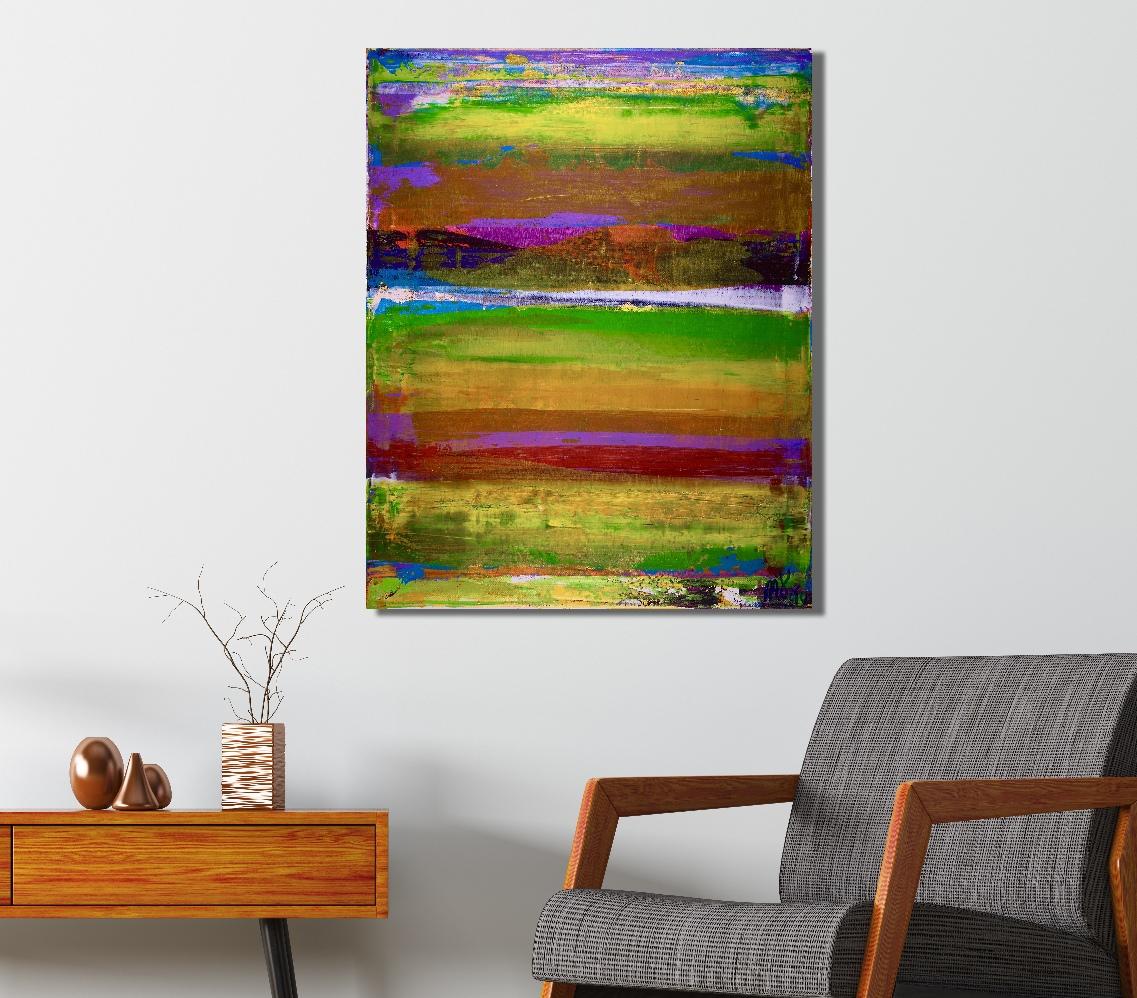 Illusion spectra 2 (2018) Edit Acrylic painting by Nestor Toro