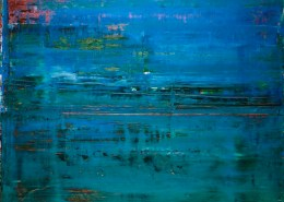 SOLD - Maritime Spectra 2 (2018) by Nestor Toro (2018) abstract art Acrylic painting