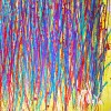 SOLD ABSTRACT EXPRESSIONIST ART BY LOS ANGELES PAINTIER - NESTOR TORO