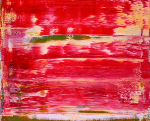 SOLD - Distant Red by Nestor Toro