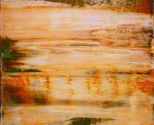 SOLD - Distant Golden Desert by Nestor Toro