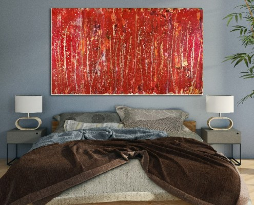 SOLD - Like Thunder by Nestor Toro - SOLD LA Abstract Art